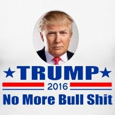 TRUMP 2016- NO MORE BULLSHIT